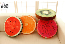38cm Plush toy fruit cushion pillow watermelon cushion office sofa almofadas decorativas cojines birthday gift free