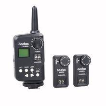 Godox FT-16S Controller Flash Trigger For VING V850 V860 Speedlite (2X Receiver)