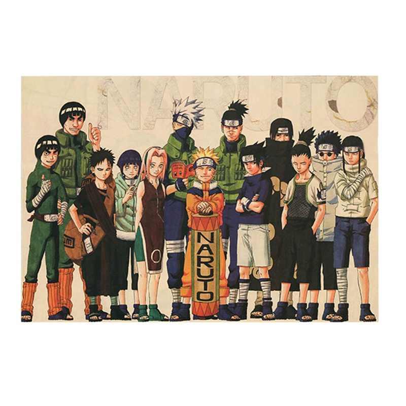 Mới Shippuden Anime Game Poster Nghệ Thuật Vải Lụa In 51x35cm Sasuke Ảnh Treo Tường Trang Trí Phòng Khách