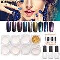 2g/box Shinning Mirror Nail Glitter Powder Gorgeous Manicure Art DIY Chrome Pigment Glitters Dust Nails Gel Polish Decorations