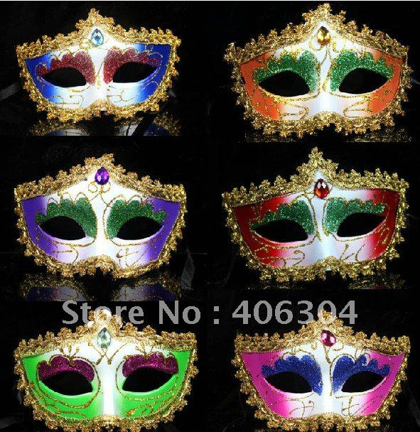 Children Adult Party mask with lace Wedding Masks princess mask