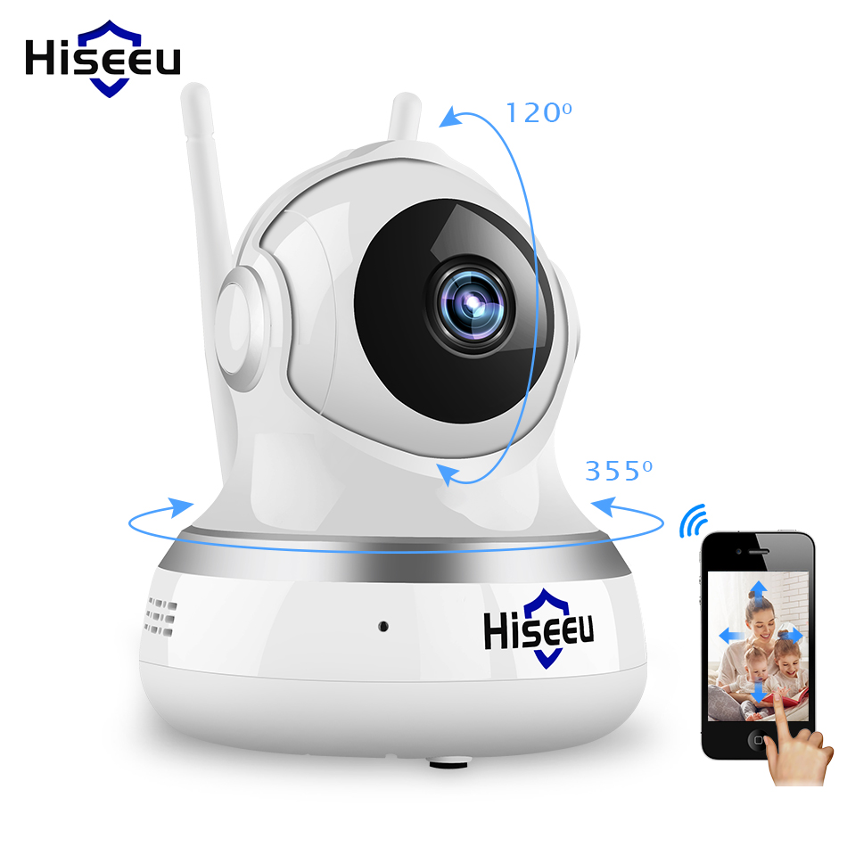 1080P IP Camera WIFI  CCTV Video Surveillance P2P Home Security TF Card Storage 2MP Babyfoon Camera Network Hiseeu