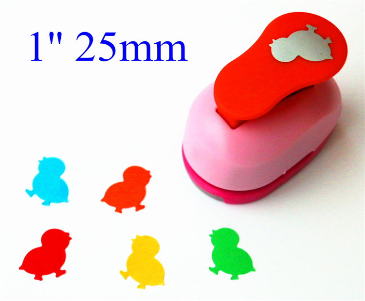 Free Ship 1'' (2.5cm) Chick Paper Cutter Scrapbooking Punches Paper Punch Eva Foam Punch Child Diy Craft Punch Scrapbook S2945