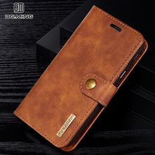 Wallet Flip Leather Cover For Samsung Galaxy J7 2017