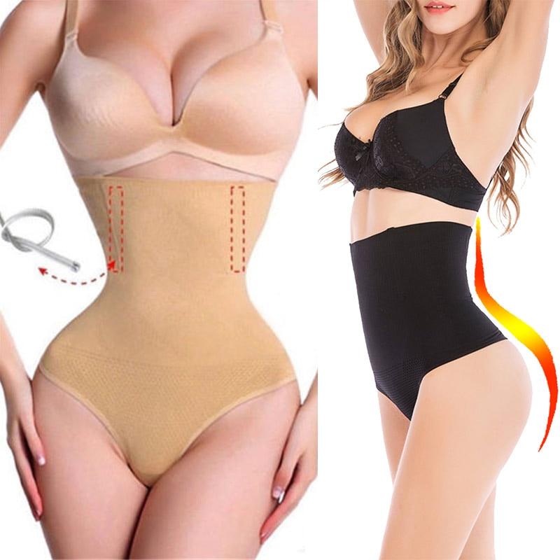Body Shaper control panties slimming belt High Waist Control Thong Butt Lifter Shapewear Slim Belts Women Corset Waist Trainer