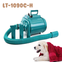 1pc LT1090C H 4 Gear Speed Dual motor Professional Pet Hair Dryer Blower 3600W 220V Pet Dog/Cat Hair Dryer
