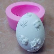 Яйцевидной формы силиконовые мыло формы 3D силиконовые формы свечи формы отделка формы торт