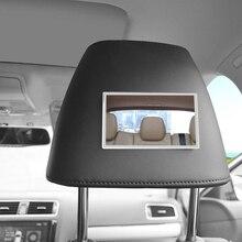 1 шт., прочное автомобильное косметическое зеркало из нержавеющей стали, солнцезащитный козырек, зеркало, защита от солнца, автомобильное украшение, инструменты для макияжа, аксессуары
