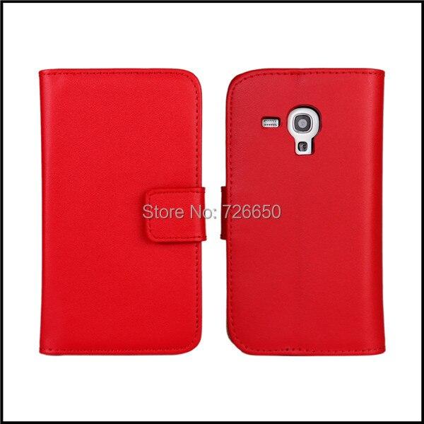 Подлинная кошелек кожаный чехол для Samsung Galaxy s3 mini i8190 сотовых телефонов с 11 видов + протектор