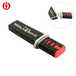 Росомаха Ножи USB флэш-накопитель USB 2,0 Memory Stick usb Флеш накопитель 8 ГБ 16 ГБ 32 г 64 ГБ 128 ГБ оптовая продажа usb Флеш накопитель подарки