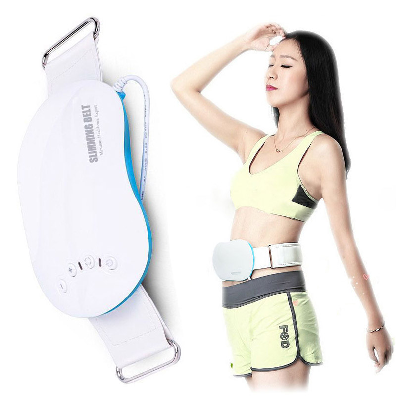 0c00c9e600 Waist Massage Belt body Slimming celulitis massager Electric vibrator Body  Fat Burner Belly Fat Burning ems massage device-in Massage   Relaxation  from ...