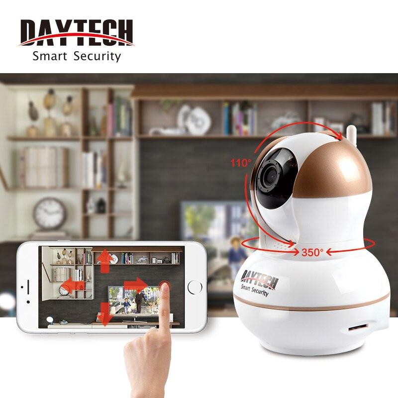 imágenes para Daytech WiFi Cámara IP 720 P Inicio Seguridad Cctv Cámara de Visión Nocturna de Interior Bebé de Dos Vías de Audio