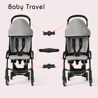 Stroller Accessoires 3pcs Coupler for Babyzen Yoyo Babytime Baby Yoya Throne Prams Adapter Make 2 Carriages Into Twin Pushchair
