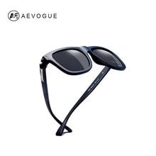 AEVOGUE Polarized Sunglasses Men TR90 Unisex Style Vintage Polaroid Lens Top Quality Original Oculos De Sol Masculino AE0614