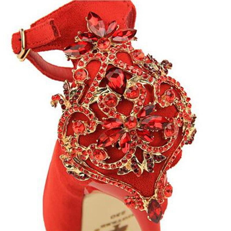 Bling 2 Femmes 5 1 Talons 4 Nouvelles Mariage Chaussures Sexy De Parti Strass Pompes 2018 K717 3 Hauts Femme Haute Glitter À UwIpx11n