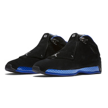Auténtico Jordan Retro 18 XVIII hombres zapatos de baloncesto negro  gimnasio rojo definir momentos Toro al 4d83c1b64e28f