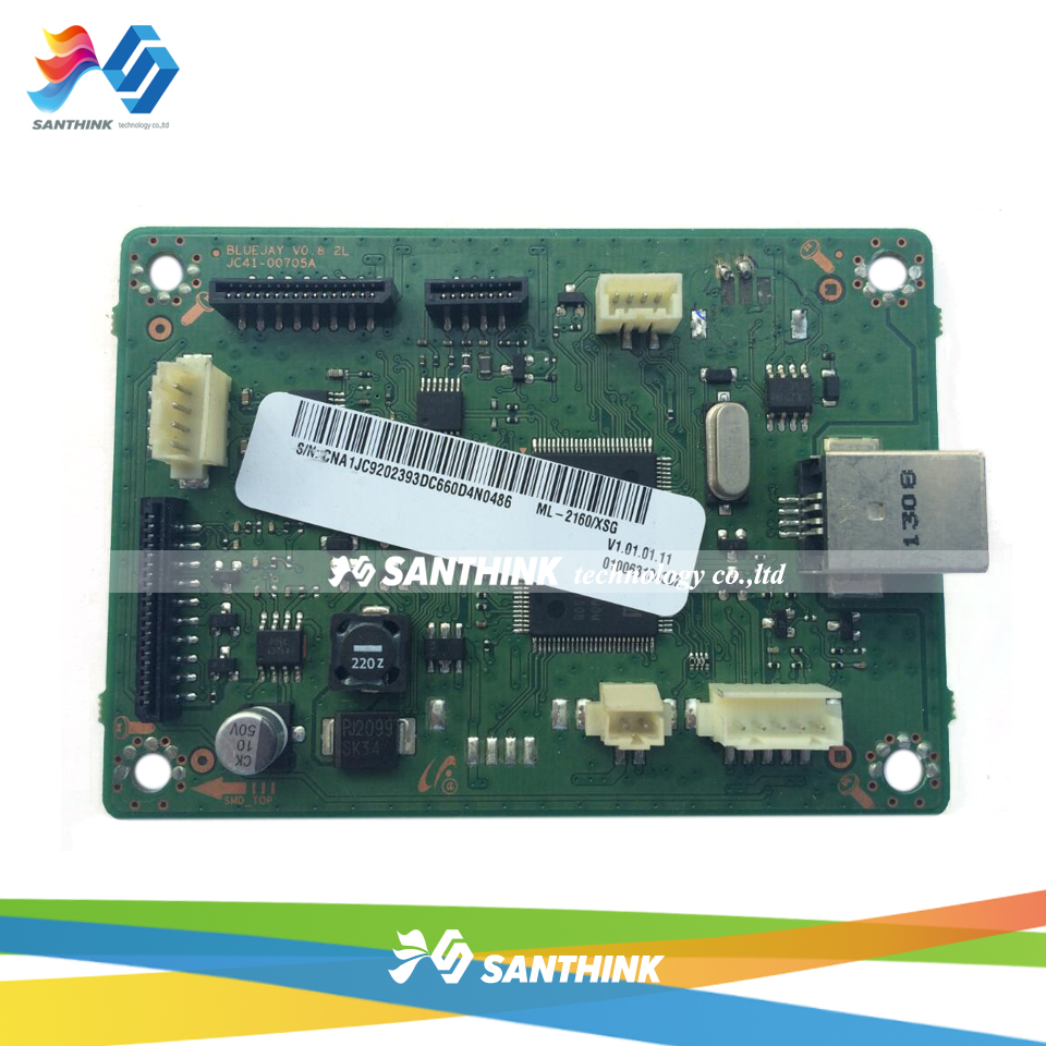 100% Test Main Board For Samsung ML-2160 ML-2161 ML-2165 ML 2160 2161 2165 Formatter Board Mainboard On Sale formatter pca assy formatter board logic main board mainboard mother board for hp m775 m775dn m775f m775z m775z ce396 60001