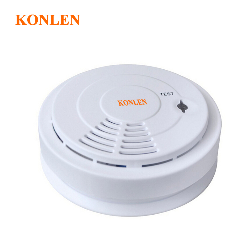 433 wireless smoke detector fire alarm linked with alarm system or standalone detectors humo in. Black Bedroom Furniture Sets. Home Design Ideas