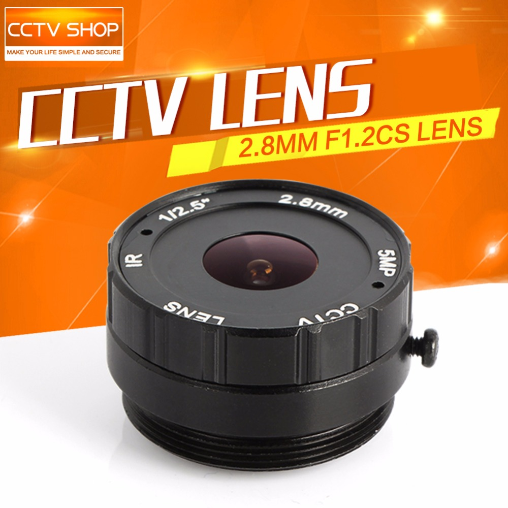 Board 2.8mm Lens 120 Degree CS Mount Monofocal Manual Iris Lens CCTV Camera Lens For CCTV IP Analog Camera 5MP L хроники харона энциклопедия смерти