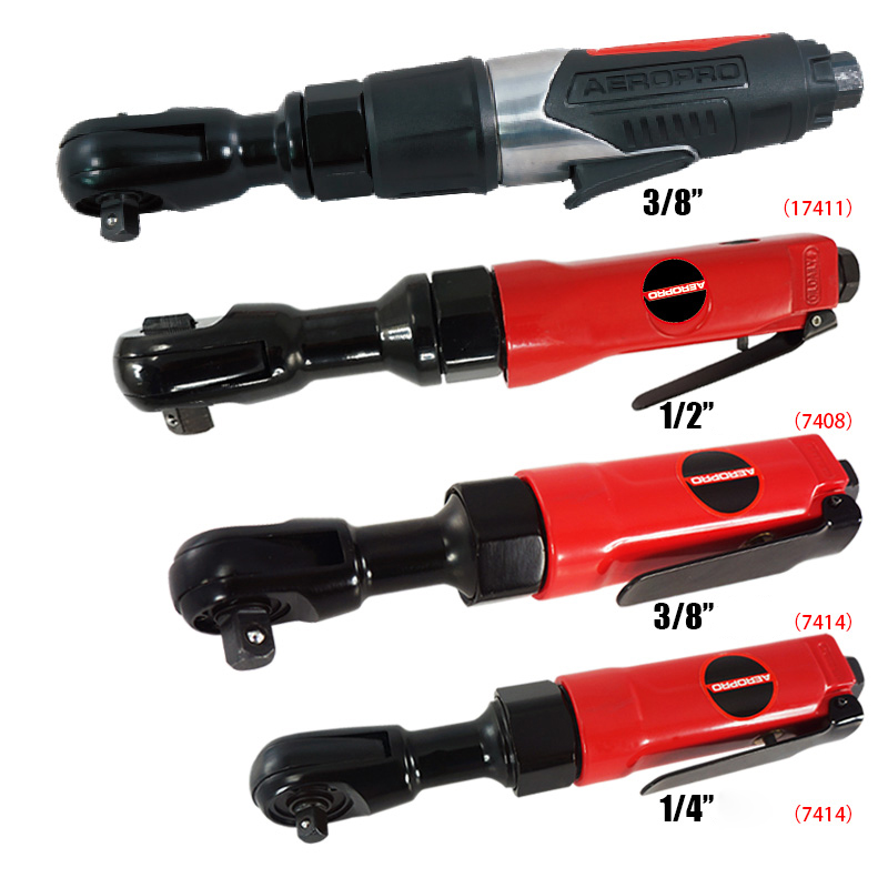цены 1/4 3/8 1/2 Inch Pneumatic Ratchet Wrench Tools Mini Air Ratchet Wrench Spanner pneumatic Hand Tools