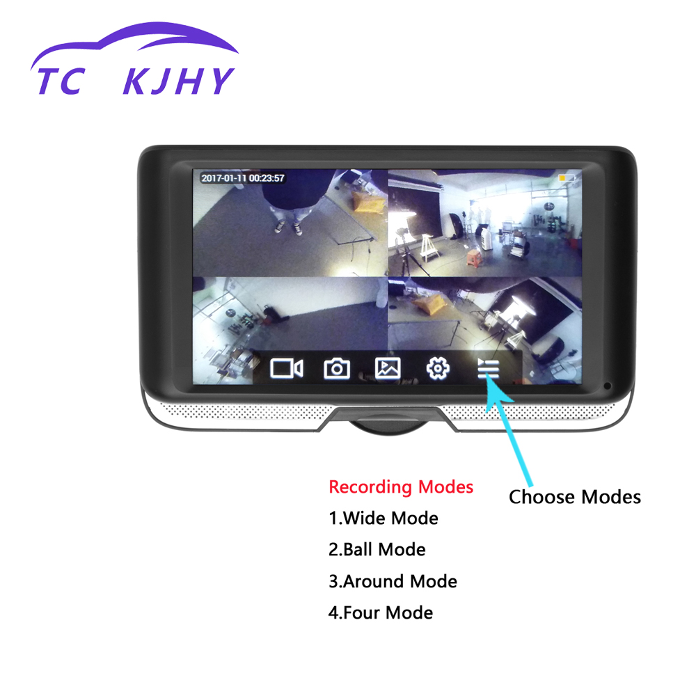 2018 Auto 4.0 Full HD 1080P Dash Cam Car DVR Camera Cycle Recording Video Recorder Registrator Night Vision Car Camcorder DVRs