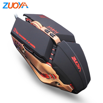 Gaming Mouse Mause DPI Adjustable  Computer Optical LED Game Mice Wired USB Games Cable Mouse LOL for Professional Gamer เมาส์