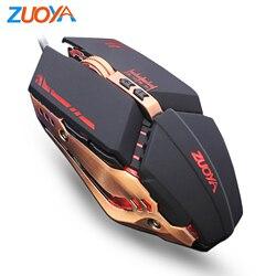 Mouse Gaming Mause DPI Dapat Disesuaikan Komputer LED Optik Mouse Game Kabel USB Game Kabel Mouse LOL untuk Gamer Profesional