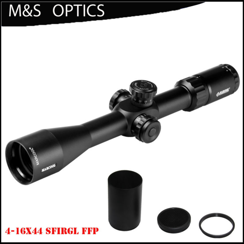 MARCOOL EVV 4-16X44 Side Focus FFP Tactical Gun OPTICAL SIGHT Rifle Scopes Hunting Riflescope For Rifles marcool 4 16x44 side focus front focal plane optical sights rifle scope hunting riflescopes for tactical gun scopes for adults