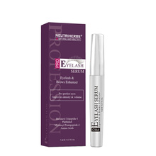 Neutriherbs Eyelash Growth Serum Eyelash Enhancer Brow Serum for lange, myke øyne og øyenbryn 5ml