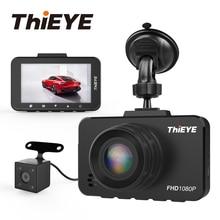 ThiEYE Safeel 3/3R Dvr Dash камера Русская версия 145 градусов для транспорта камера реальный 1080 P Dash cam g-сенсор 2,45 «камера заднего вида
