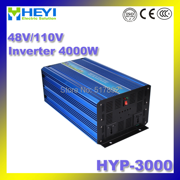 Inverter 3000w dc ac Pure Sine Inverter Input: 48V/110V HYP-3000 50/60Hz Soft start Micro inverter Efficiency: > 90% 48v 110v hyp 6000 50 60hz dc to ac power inverter soft start power inverter low work noise sine wave inverter