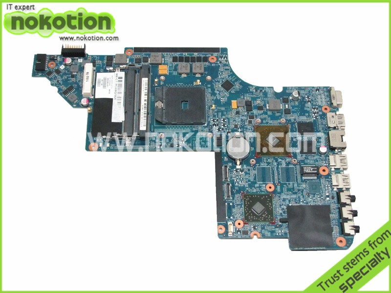 NOKOTION 650853-001 For hp pavilion DV6 dv6-6102ea socket FS1 DDR3 ATI HD6490 512MB graphics nokotion 650854 001 main board for hp pavilion dv6 dv6 6000 laptop motherboard socket fs1 ddr3 ati hd6750 1gb page 7