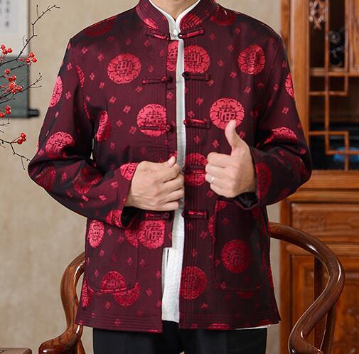 Chinesischen stil männer jacke 2018 neue mode YK002