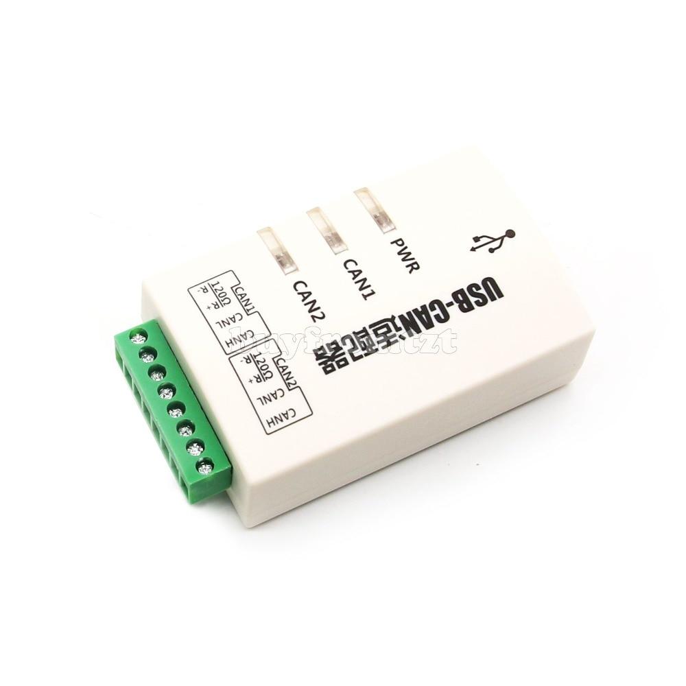 USB to CAN Converter อะแดปเตอร์ Dual   channel อินเตอร์เฟสการ์ด USB CAN 2A-ใน รีโมทคอนโทรลอัจฉริยะ จาก อุปกรณ์อิเล็กทรอนิกส์ บน AliExpress - 11.11_สิบเอ็ด สิบเอ็ดวันคนโสด 1