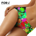 FORUDESIGNS Brand New Sexy Calcinha Female Candy Color Panty Casual Women Cotton Underwear Panties Women's Butt Lifter Briefs