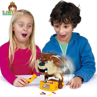 LittLove Funny Flake Out Bad Dog Bones Cards Tricky Toy Games For Parent Child Kid Playing