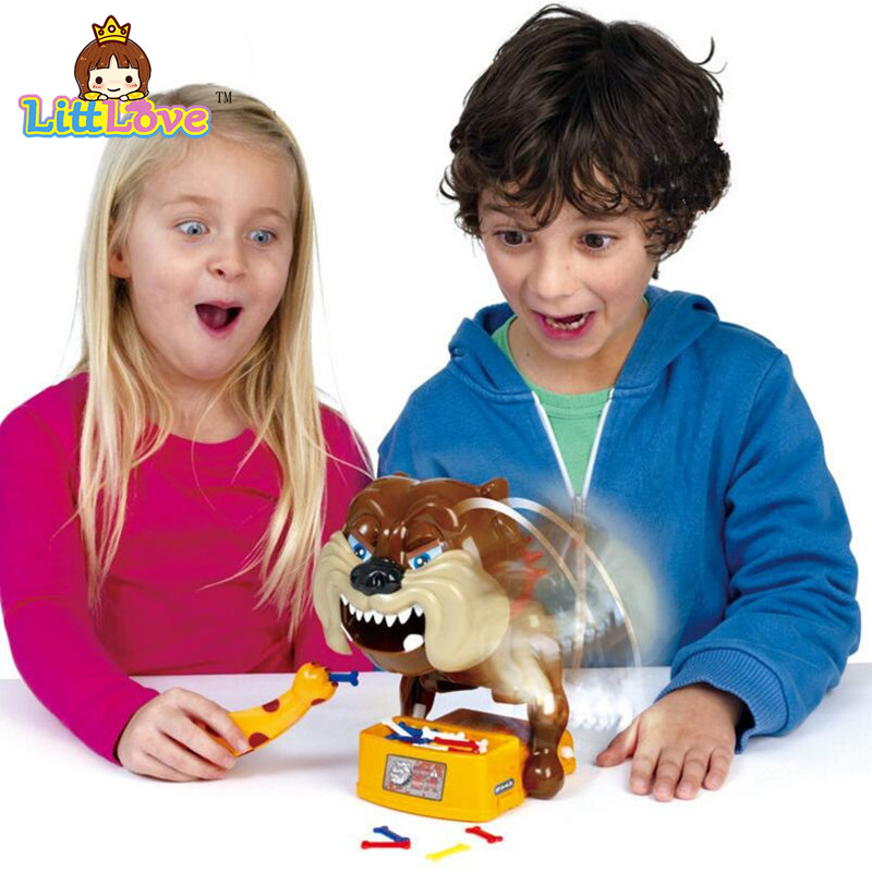 LittLove Funny Flake Out Bad Dog Bones Cards Tricky Toy Games For Parent-child Kid Playing Game Toys For Children