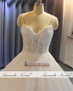 Image 3 - Vestido de noiva cinghie abito da sposa in pizzo con corpetto trasparente sexy del vestito da sposa