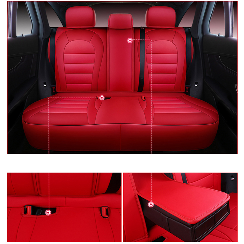 Housse de siège de voiture pour ford focus 2 3 S-MAX fiesta kuga 2017 ranger mondeo mk3 housses accessoires pour siège de véhicule - 5