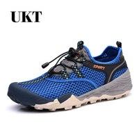 Nuevos zapatos del verano de los hombres zapatillas hombre sapato masculino zapatos ocasionales respirables netos zapatos de hombre slip on pisos para hombre 38-46