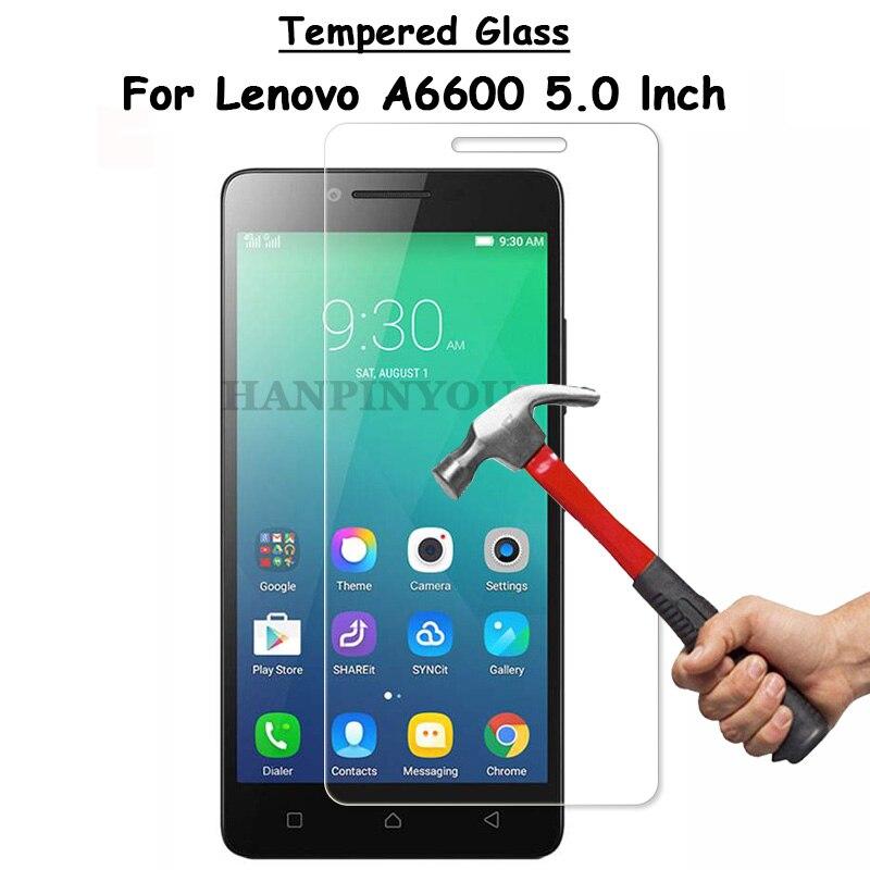 Pour Lenovo A6600 Un 6600 50 Effacer Ecran Protecteur Ultra Mince Anti Deflagrant En Verre Trempe De Protection Film Nettoyage Kit