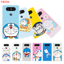 Doraemon A Blue Art Couples Soft Silicon TPU Case for LG G6 V30 G4 G5 G7 Q6 Q7 Q8 V10 V20 V40 K8 K10 Customized Cases Cover