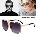 Солнцезащитные очки JackJad  брендовые  модные  крутые  с металлическим дизайном  ограниченная серия