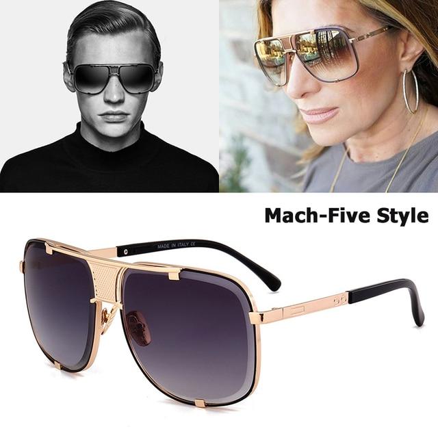 dcc153858782 JackJad 2018 New Fashion Cool Mach Five Style Aviation Sunglasses Brand  Design Metal Limited Edition Sun