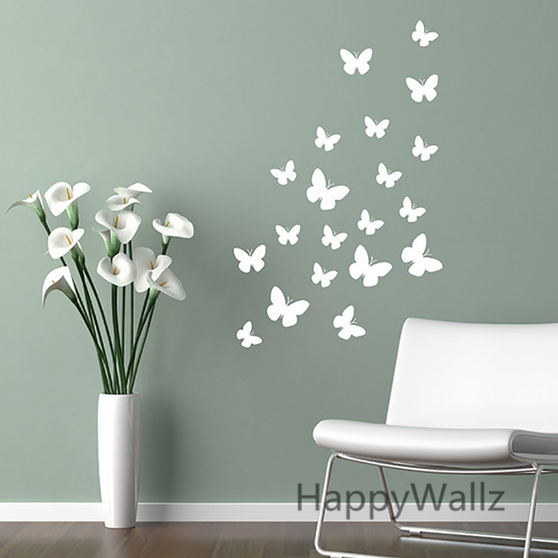 Buy butterfly wall stickers diy for Stickers decorativos para ceramica