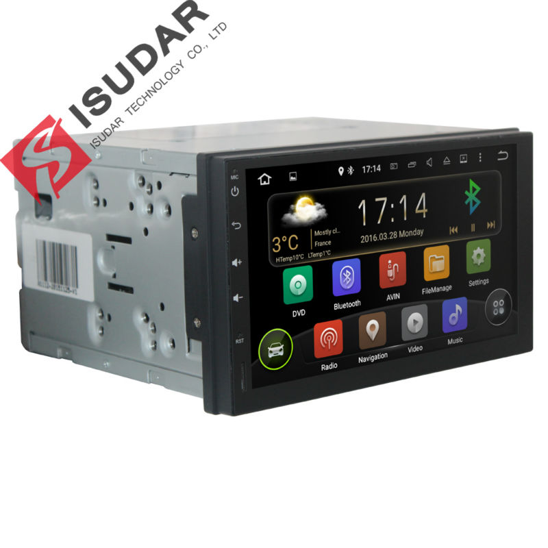 2 Din Quad Core font b Android b font 5 1 1 Car Video Audio Player