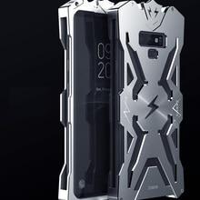 Популярный роскошный противоударный металлический чехол для samsung Galaxy S8 Plus S7 Edge Zimon алюминиевый чехол для телефона s для samsung Note 9 Note9