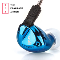 TFZ EXCLUSIVE 5 Inner Ear Earphones HiFi Audiophile Graphene Driver With Detachable Cables Earphone