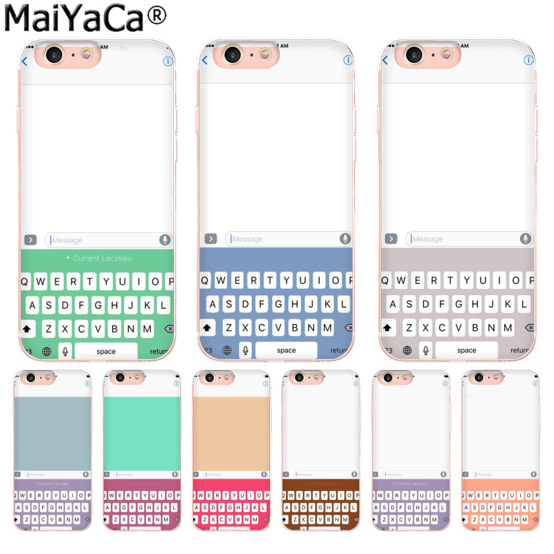 MaiYaCa Unique phone keypad Luxury fashion cell phone case  for Apple iPhone 8 7 6 6S Plus X 5 5S SE XS XR XS MAX Mobile Cover mobile phone