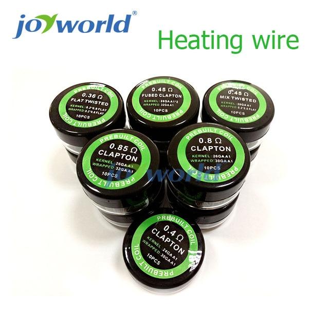 30pcs Hive Wrie Rda Coil Nichrome 80 Wire Prebuilt Clapton Coils